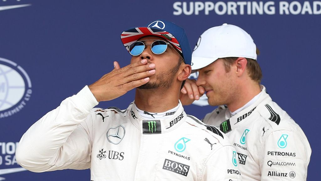 Meski Puncaki Klasemen, Hamilton Masih Mengejar Rosberg