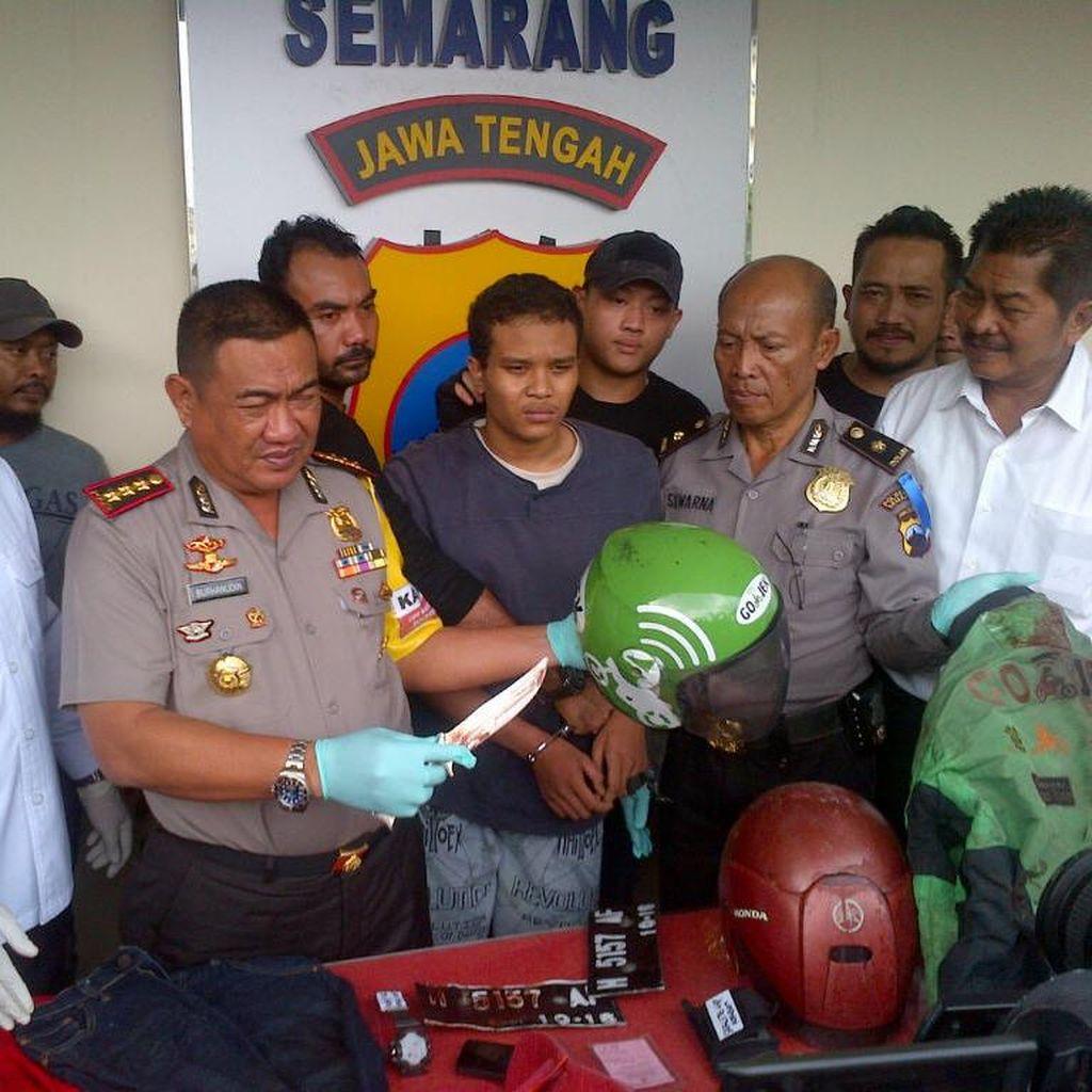 Dalih Wahyu Nekat Bunuh Driver Go-Jek di Semarang: Desakan Pacar