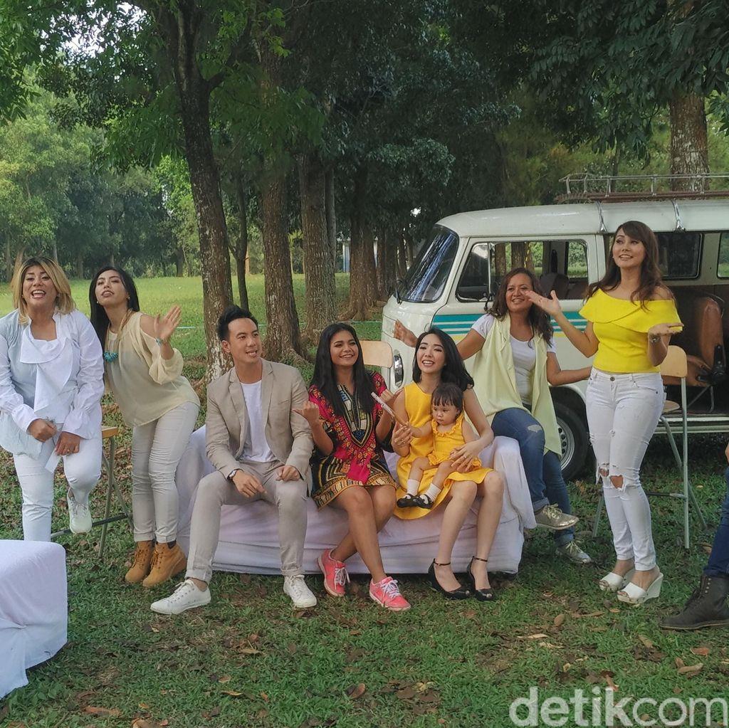 Syuting Video Klip Regina Jadi Ajang Reuni Jebolan Idol