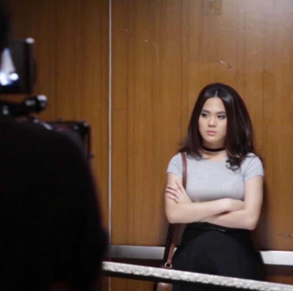 Mengintip Penggarapan Video Klip Lagu Terbaru Sheryl Sheinafia