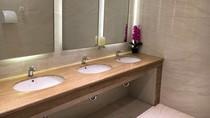 Toilet Stasiun Gambir Kini Kinclong, Ini Penampakannya