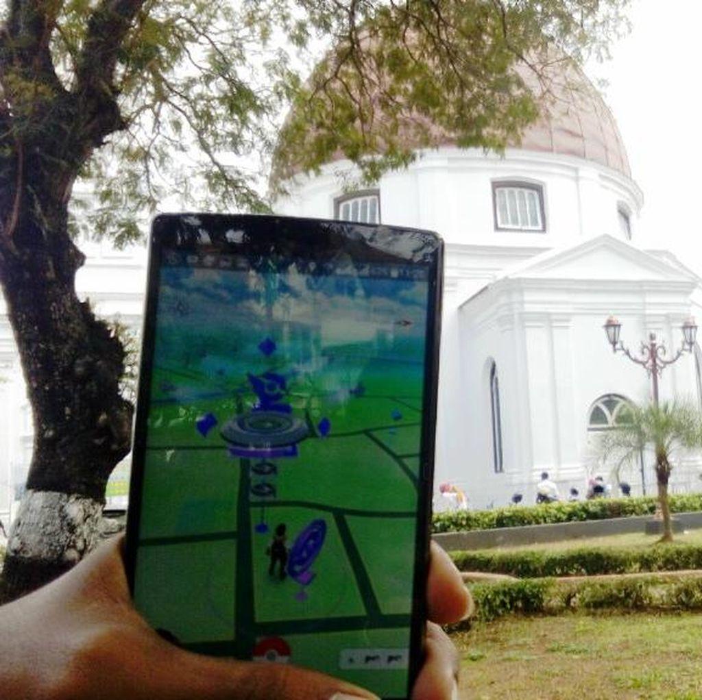Tempat Wisata di Kota Semarang Jadi Lokasi Mengadu Pokemon