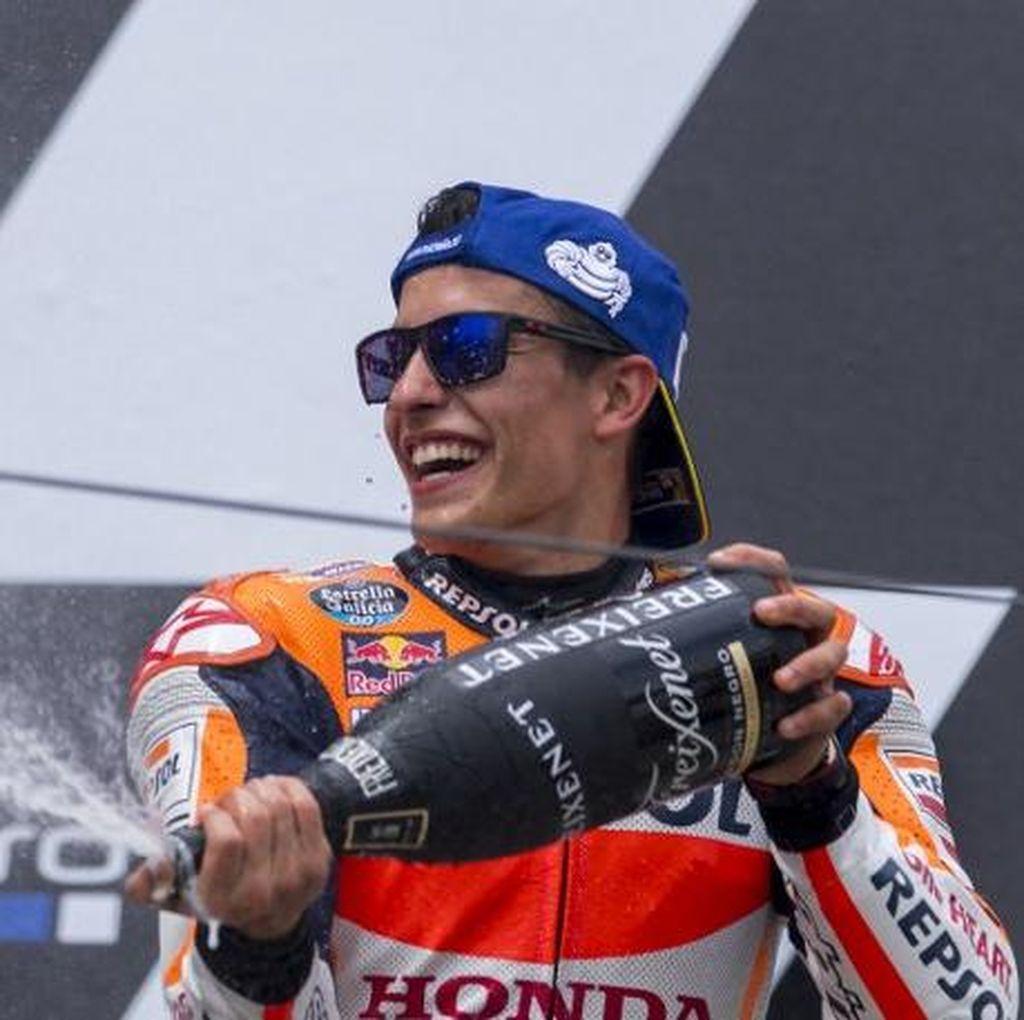 Balapan yang Sangat Sulit untuk Marquez