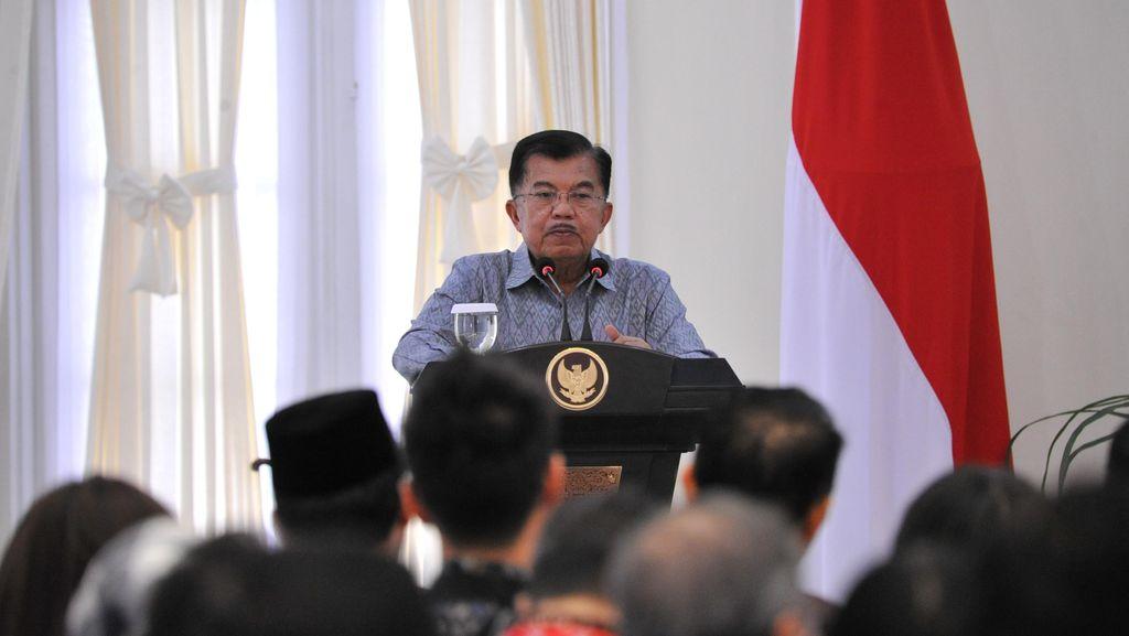 JK Minta Pimpinan Lembaga dan Daerah Tidak Lempar Tanggung Jawab ke Bawahan