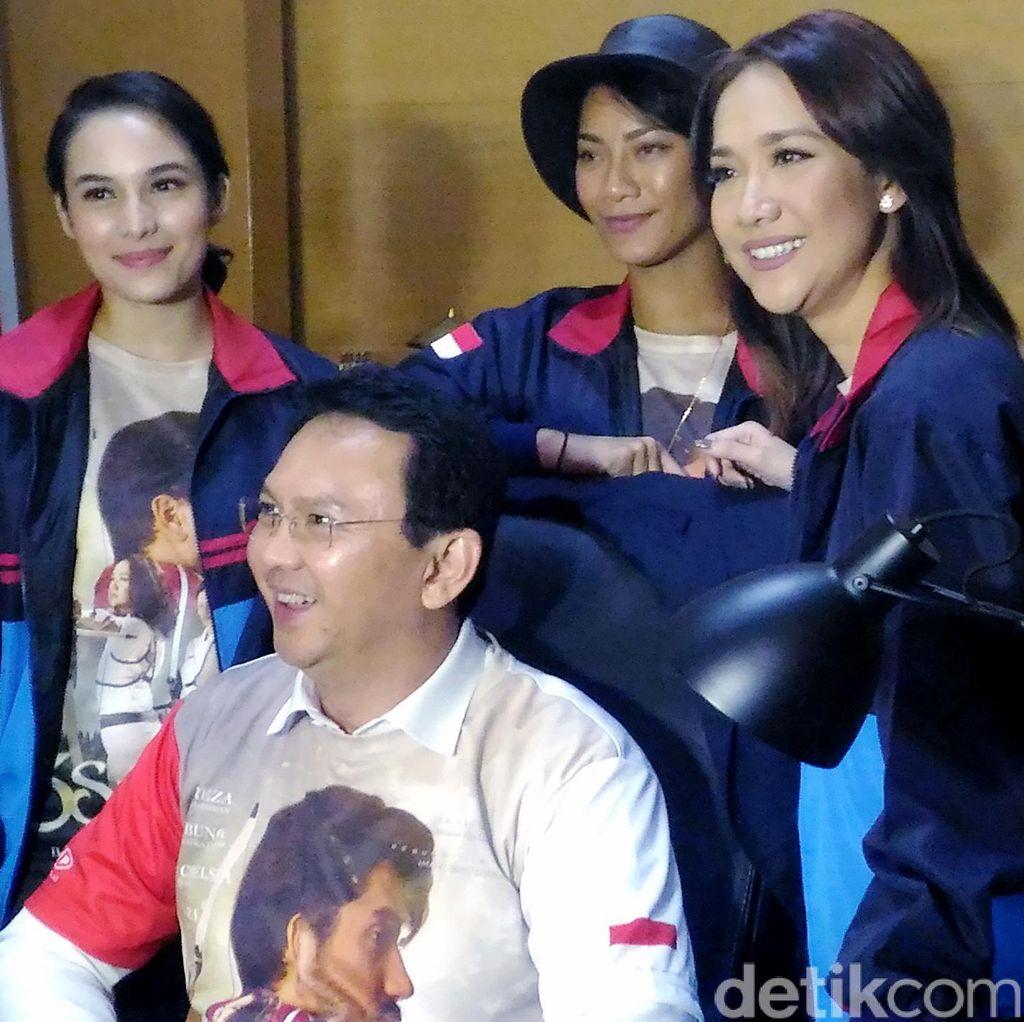 Ahok Sebut 3 Srikandi Film Pembangkit Jelang Asean Games 2018 di Jakarta