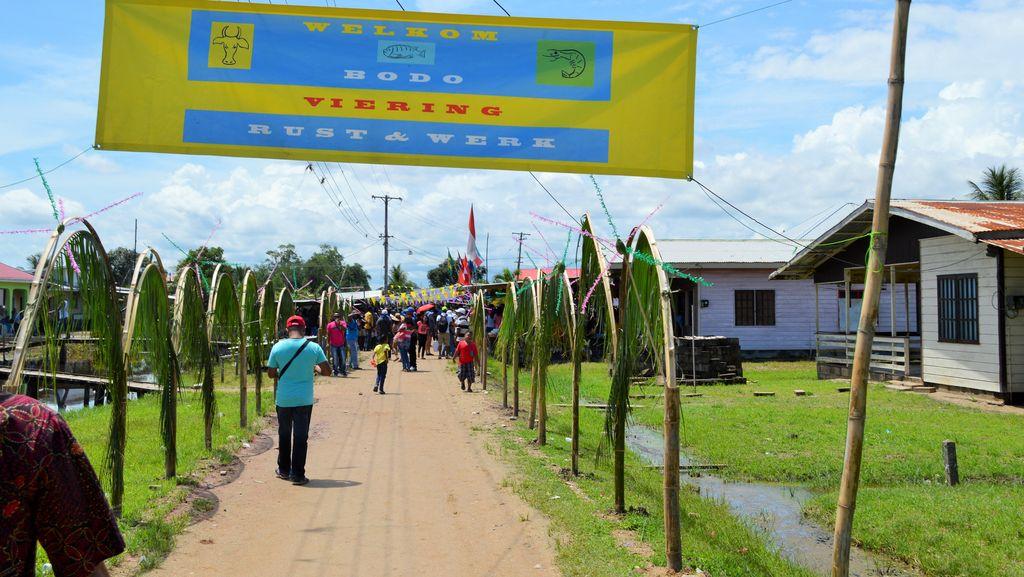Meriahnya Bodo Kupat, Lebaran Keturunan Jawa di Suriname