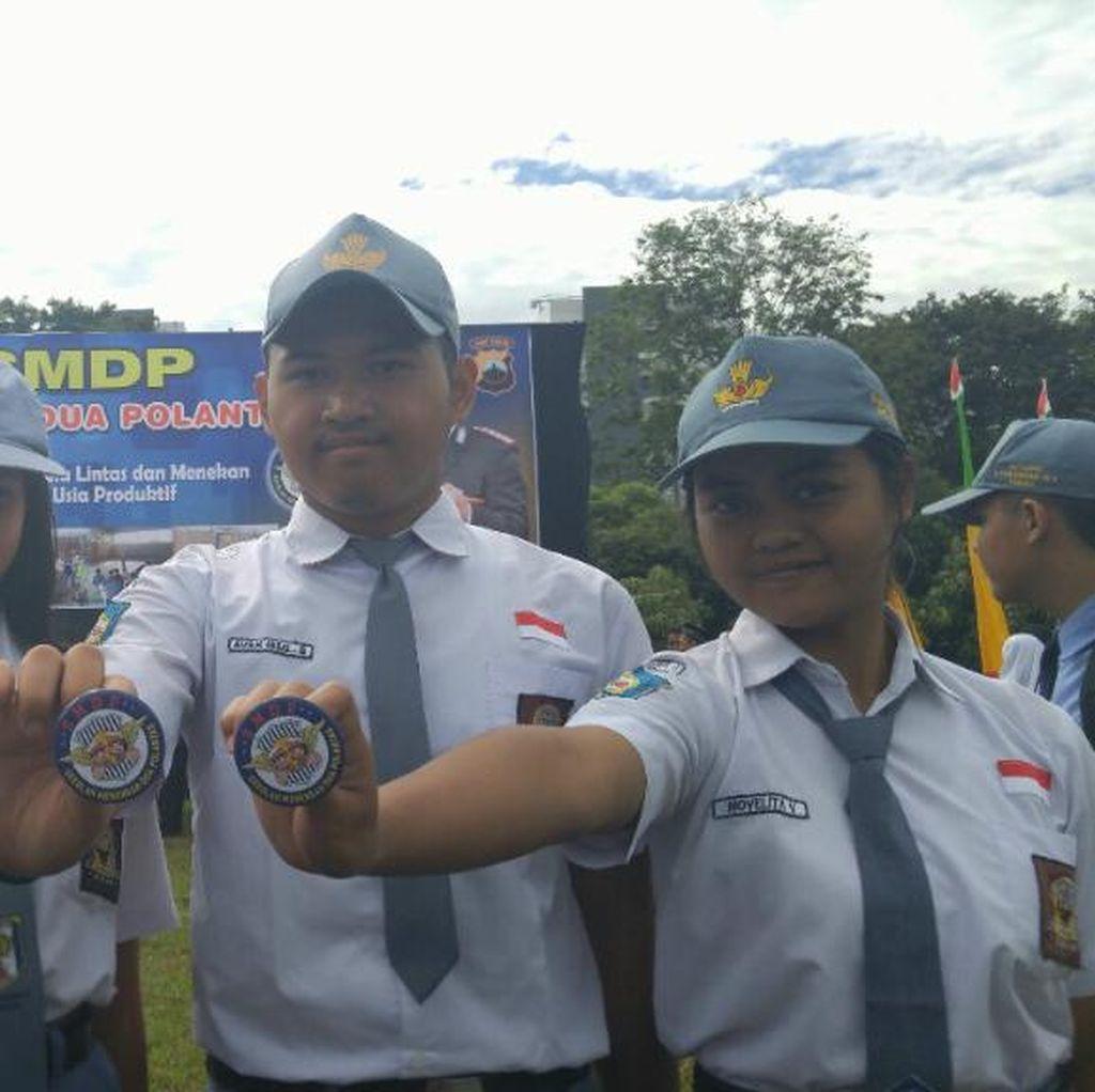 Antisipasi Kecelakaan, Polantas di Semarang Jadi Guru di SMA