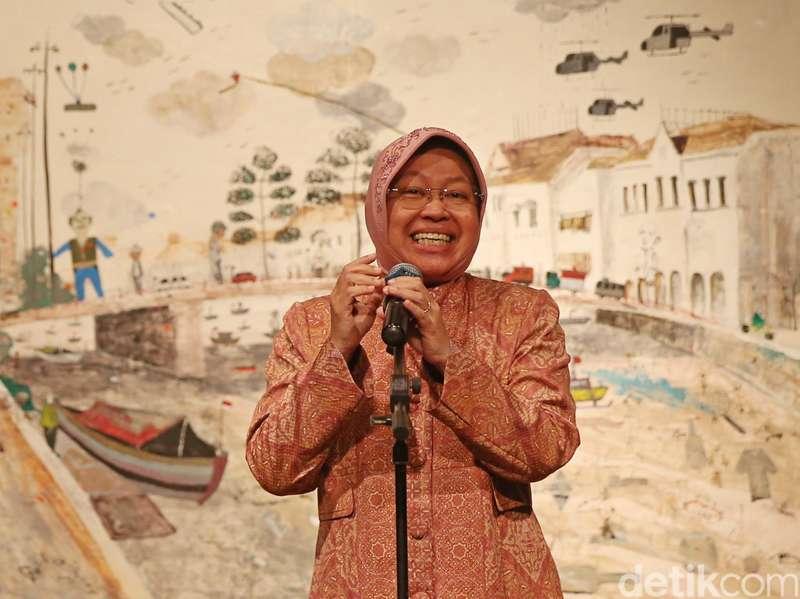 Muncul Dukungan dari Relawan Jokowi untuk Risma Maju Pilgub DKI