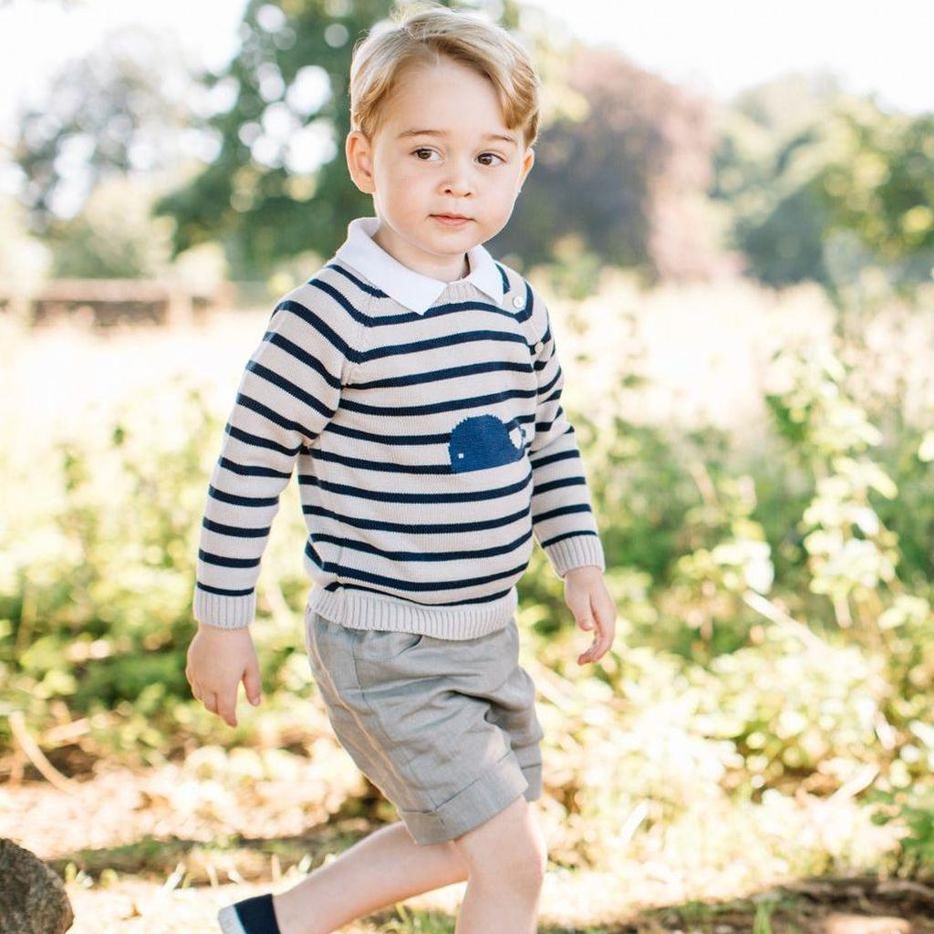 Pangeran William: Pangeran George Terlalu Dimanjakan