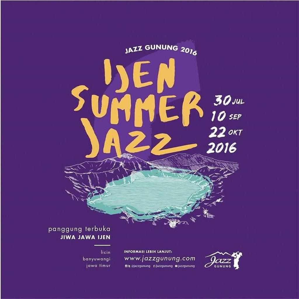 Ijen Sumer Jazz, Festival Musik Berlampu Bintang dan Bulan