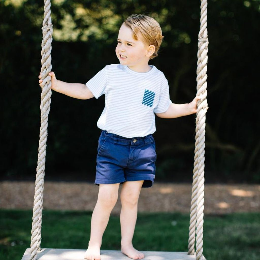 Pangeran George yang Makin Menggemaskan di Usia 3 Tahun