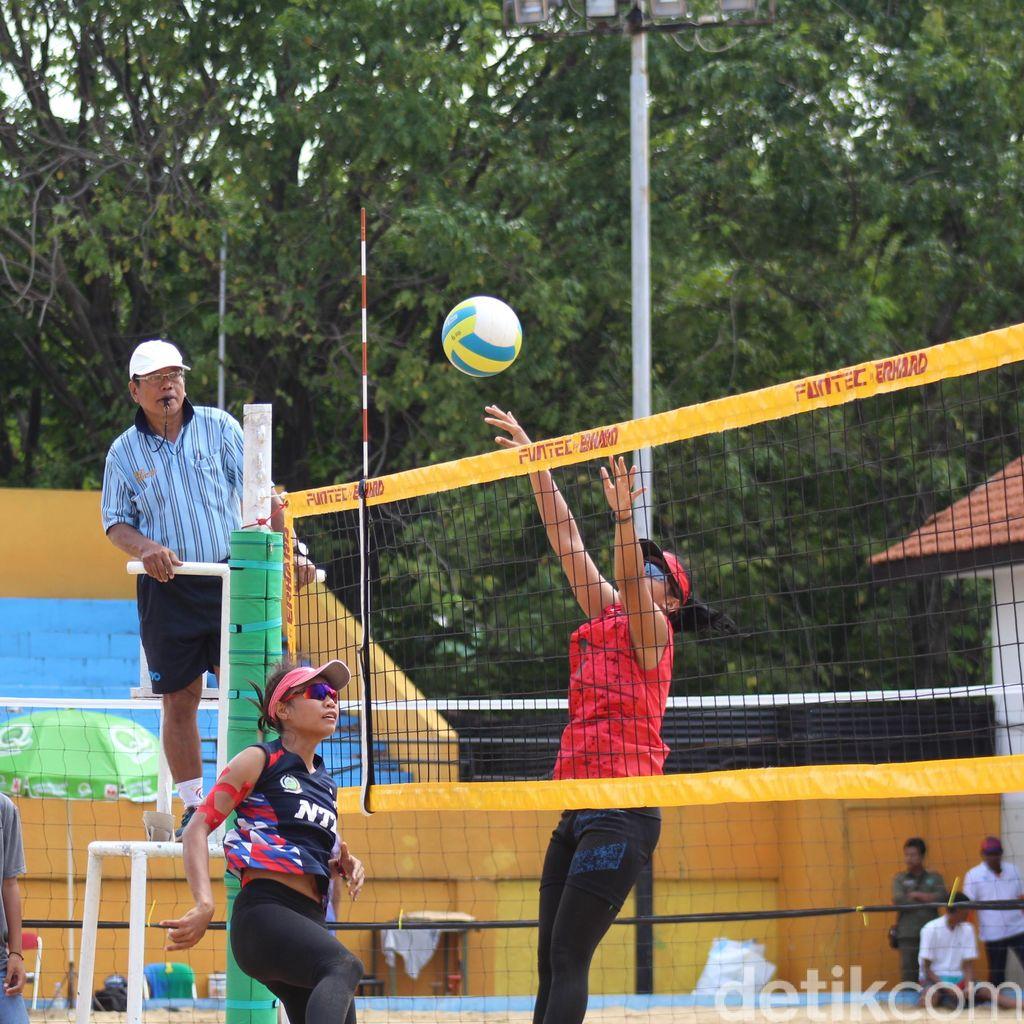 Turnamen Voli Pantai Digelar di Sidoarjo, Jadi Ajang Pemanasan PON XIX
