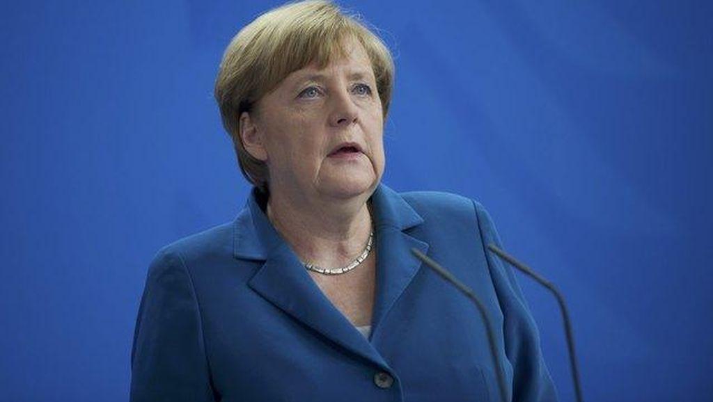 Angela Merkel Sebut Pengungsi Tak Bawa Terorisme ke Jerman