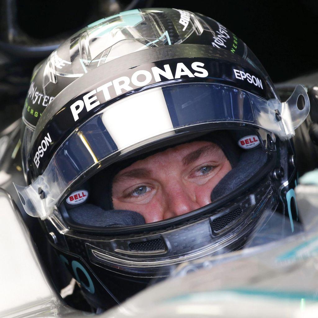 Rosberg Catat Waktu Tercepat Lagi, Verstappen Menempel Ketat di Posisi Dua