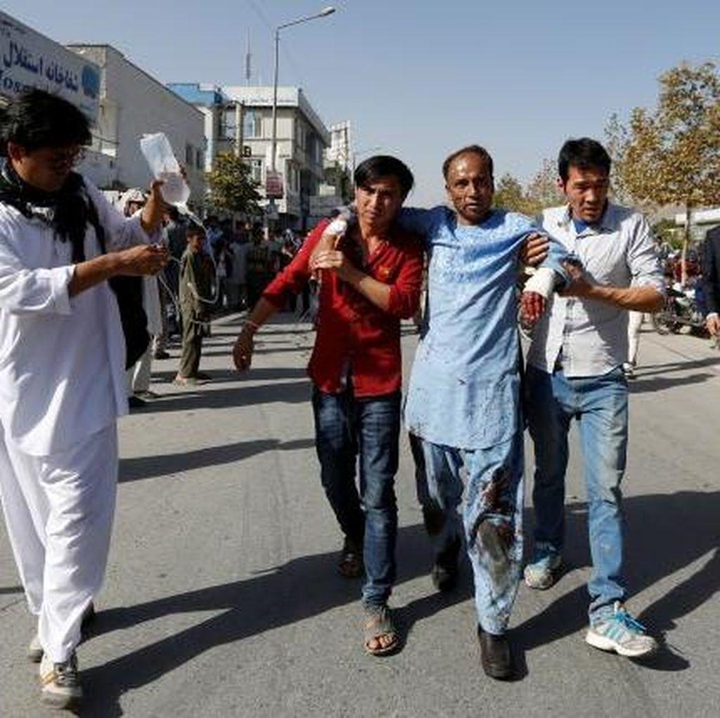 80 Orang Tewas, ISIS Klaim Jadi Dalang Bom Bunuh Diri di Kabul Afghanistan