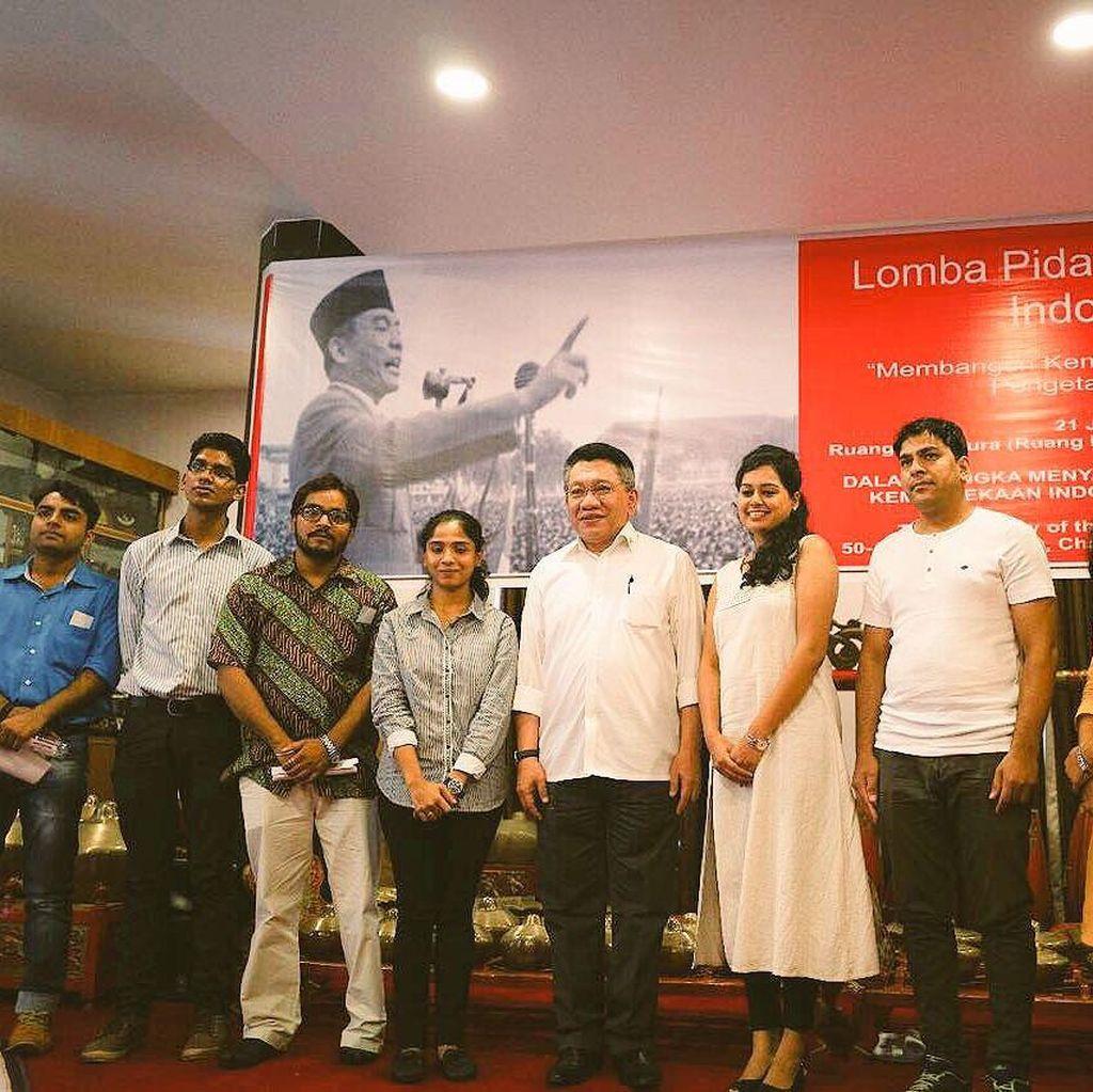 Ketika Warga India Berpidato dengan Bahasa Indonesia