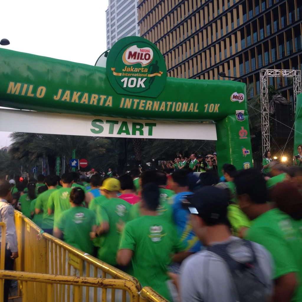 Wagub Djarot Buka Jakarta International 10K di Kuningan