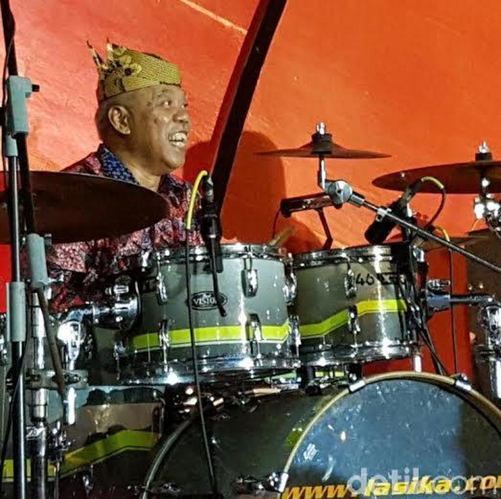 Menteri Basuki Live Performance Gebuk Drum di Welcome Dinner Delegasi Prepcom3