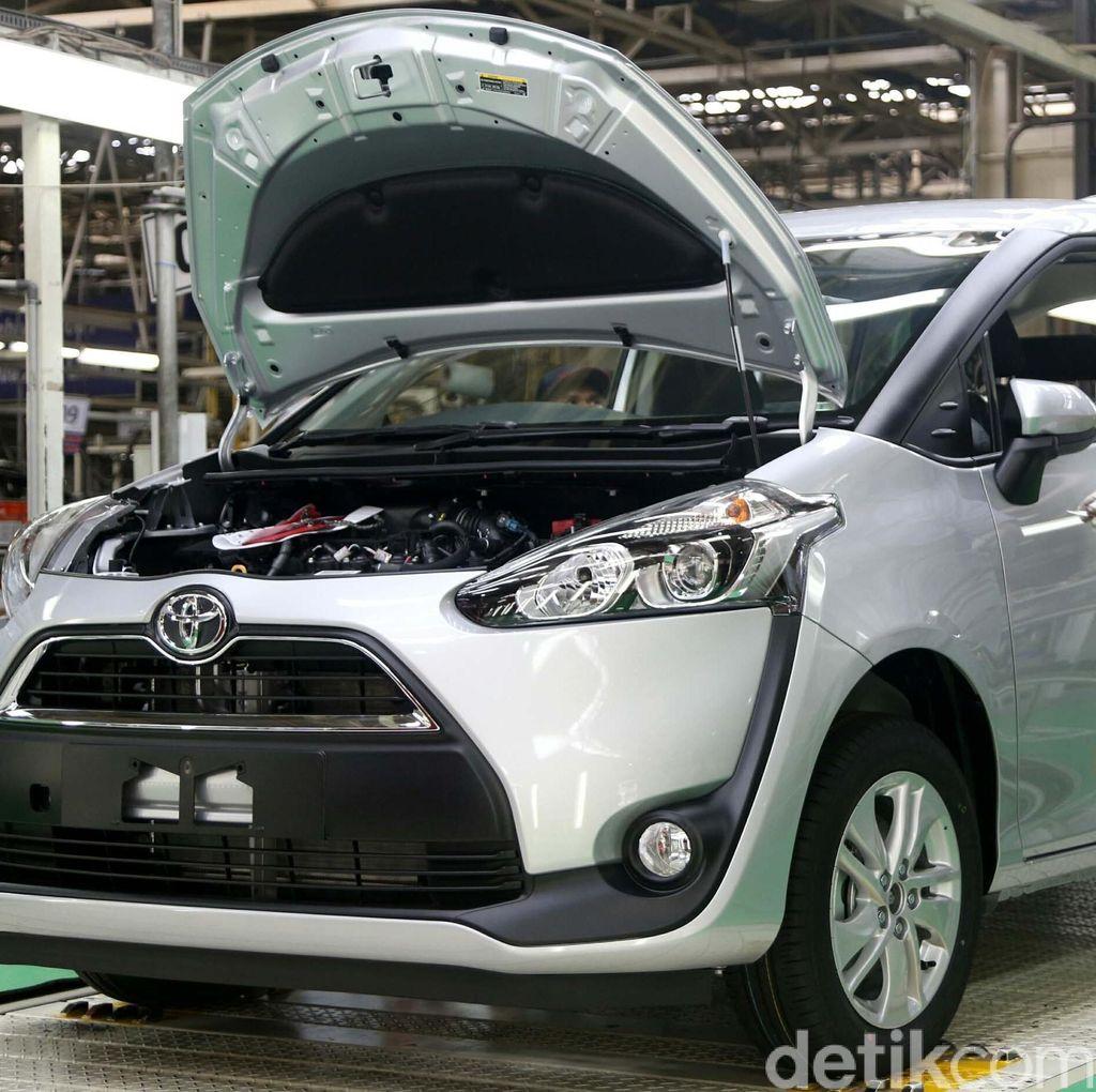 Tiap 2,8 Menit, Satu Toyota Sienta Selesai Diproduksi