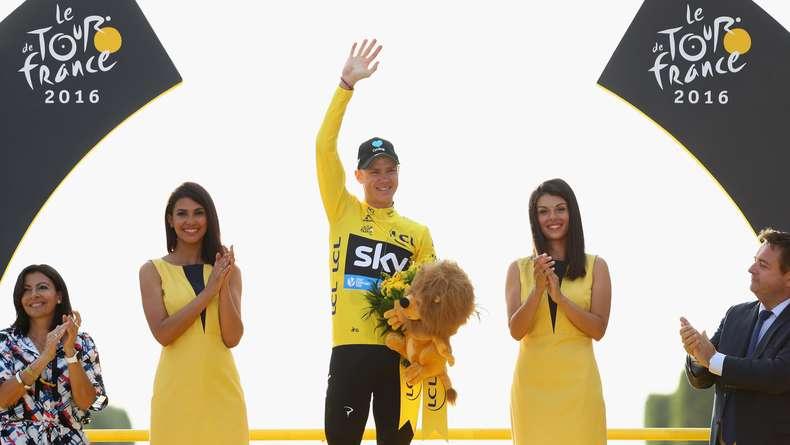 Chris Froome Juara Tour de France 2016