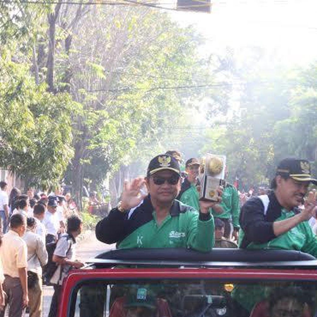 Piala Adipura Kirana Dikirab Keliling Kota Sidoarjo