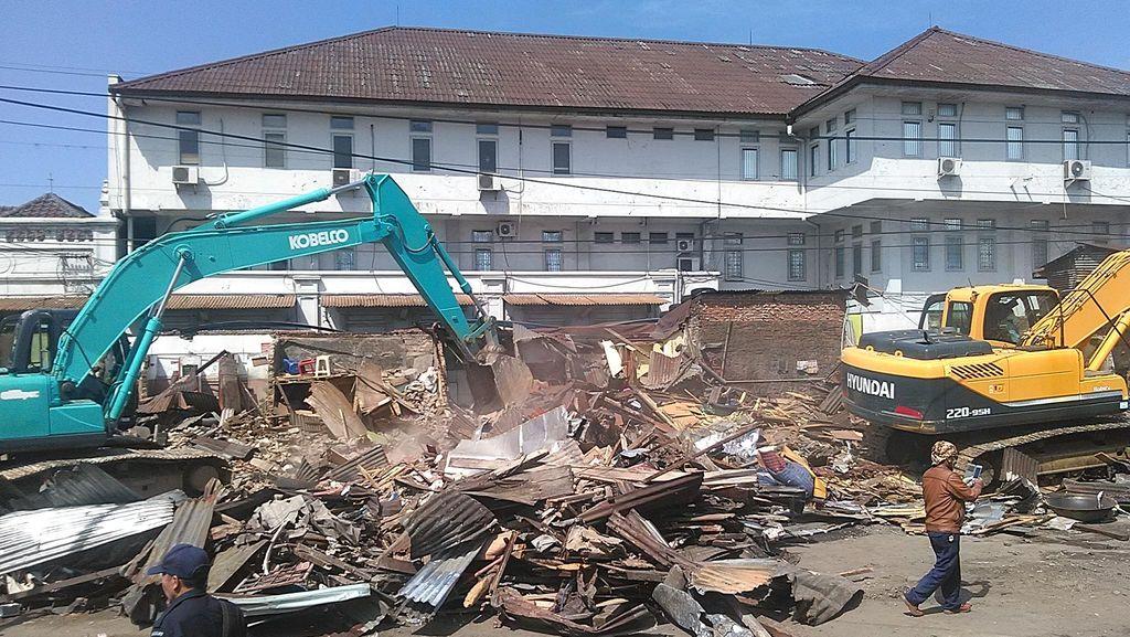 Pemkot Bandung Janji Bangun Kios untuk Warga Terdampak Penggusuran PT KAI