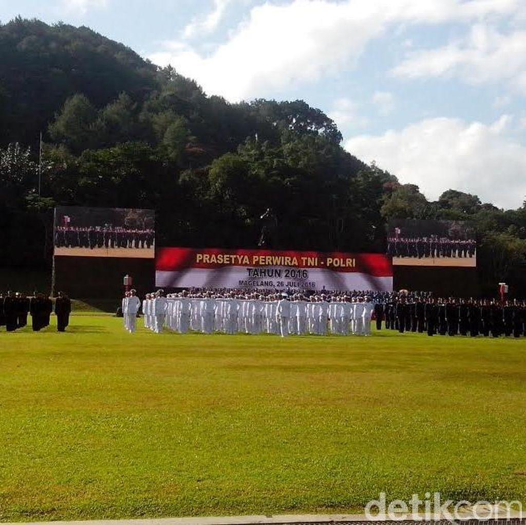 720 Perwira Remaja TNI/Polri Langsung Bertugas usai Dilantik