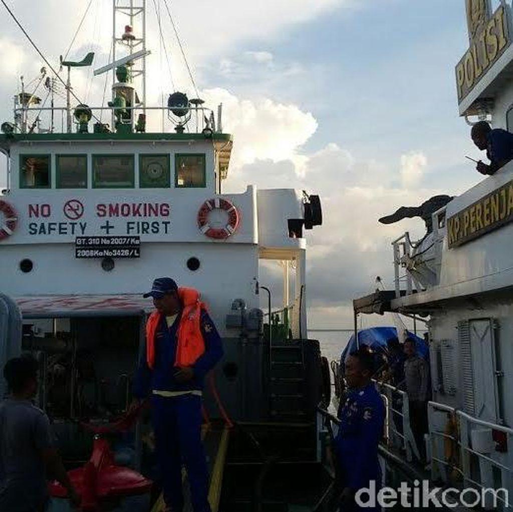 Kapal Tanker Diamankan di Perairan Karang Jamuang