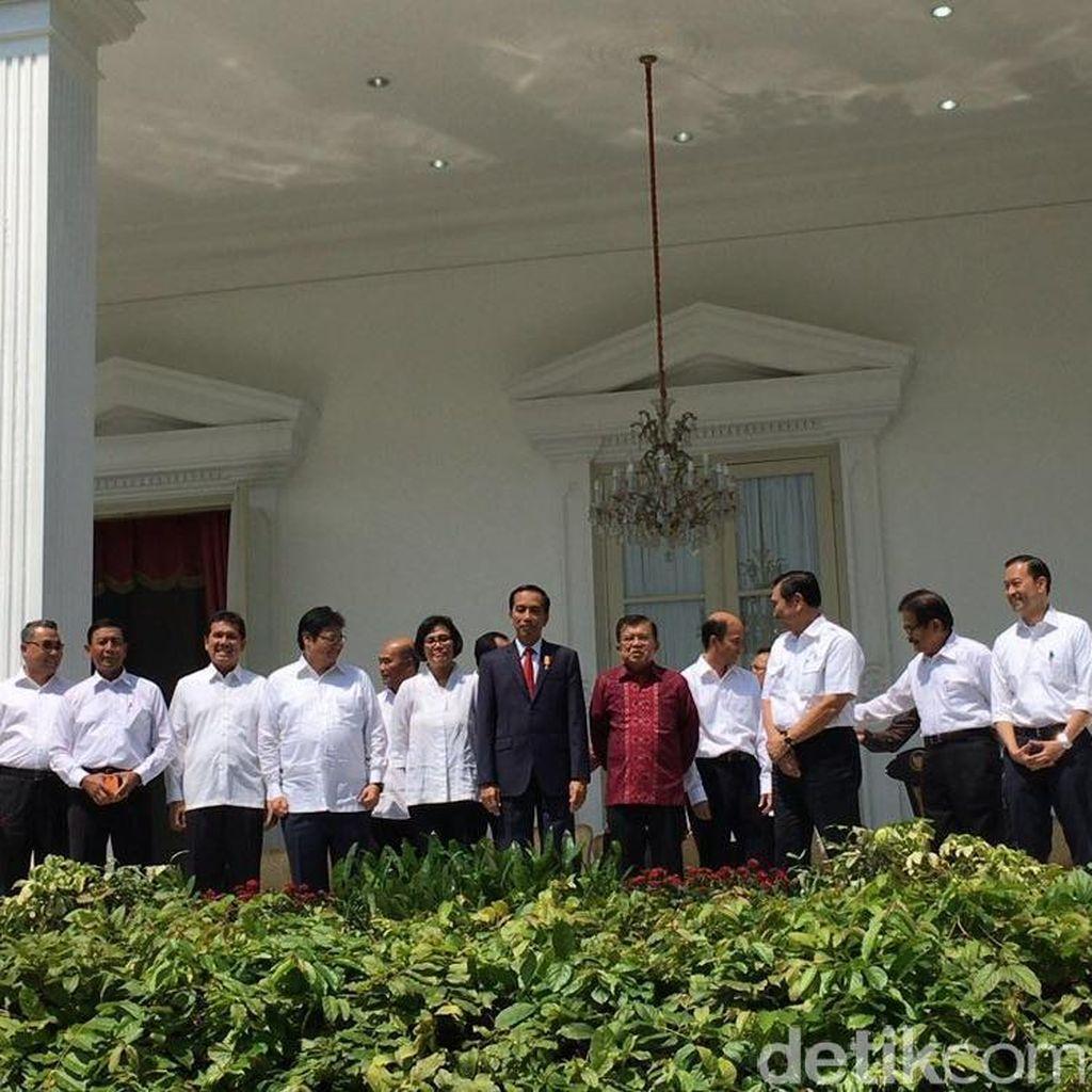 Usai Dilantik, 12 Menteri Baru Langsung Ikut Sidang Kabinet Paripurna