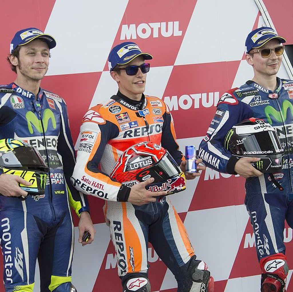 Marquez: Musim Ini Rossi Amat Tangguh, Lebih Cepat dari Lorenzo