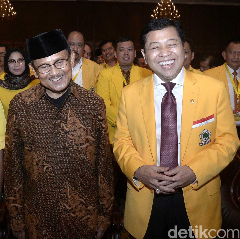 Pastikan Suara Bulat, Golkar Deklarasi Dukungan ke Jokowi Malam ini