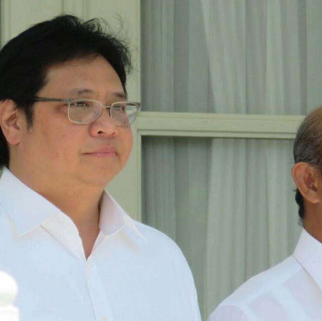 Ini Alasan Jokowi Tunjuk Enggartiasto dan Airlangga Jadi Mendag dan Menperin