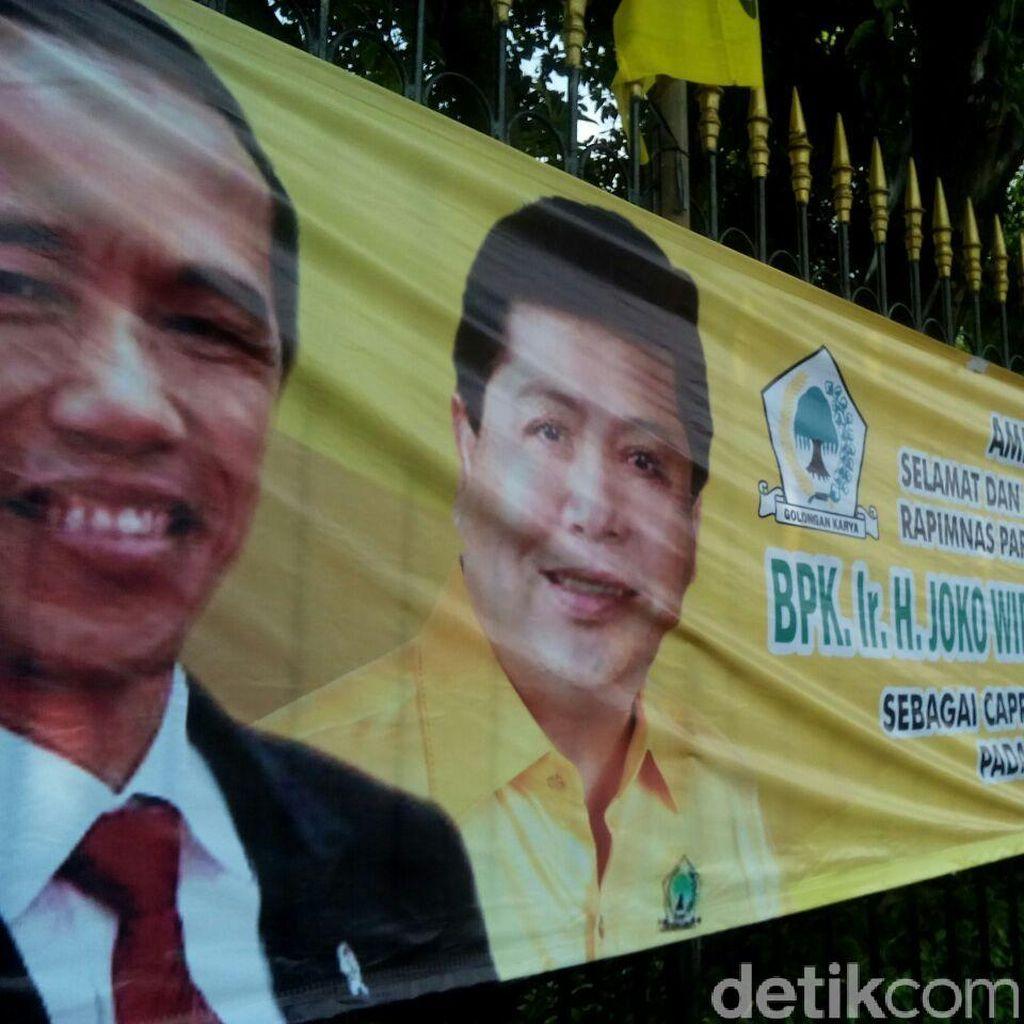 Soal Spanduk Duet Jokowi-Novanto di Pilpres 2019, Ini Penjelasan MKGR