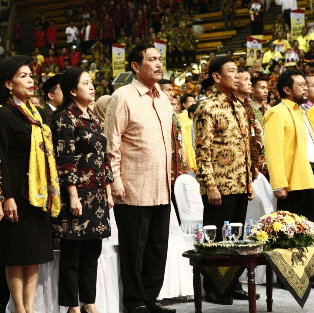 Penutupan Rapimnas Golkar, Ketua MPR Ajak Parpol Bersatu untuk Bangsa