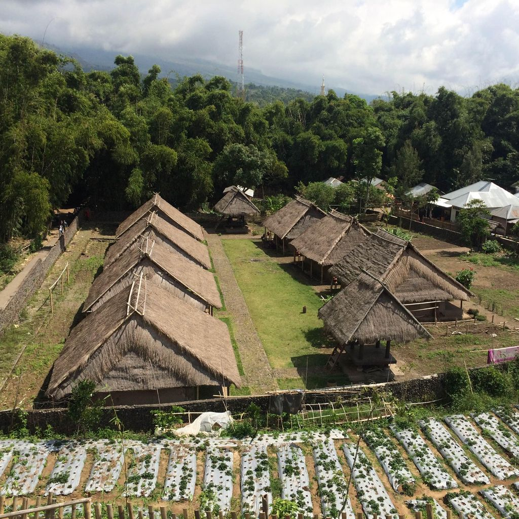 Mengenal Dusun Belek dan Rumah Adat Pertama di Sembalun NTB