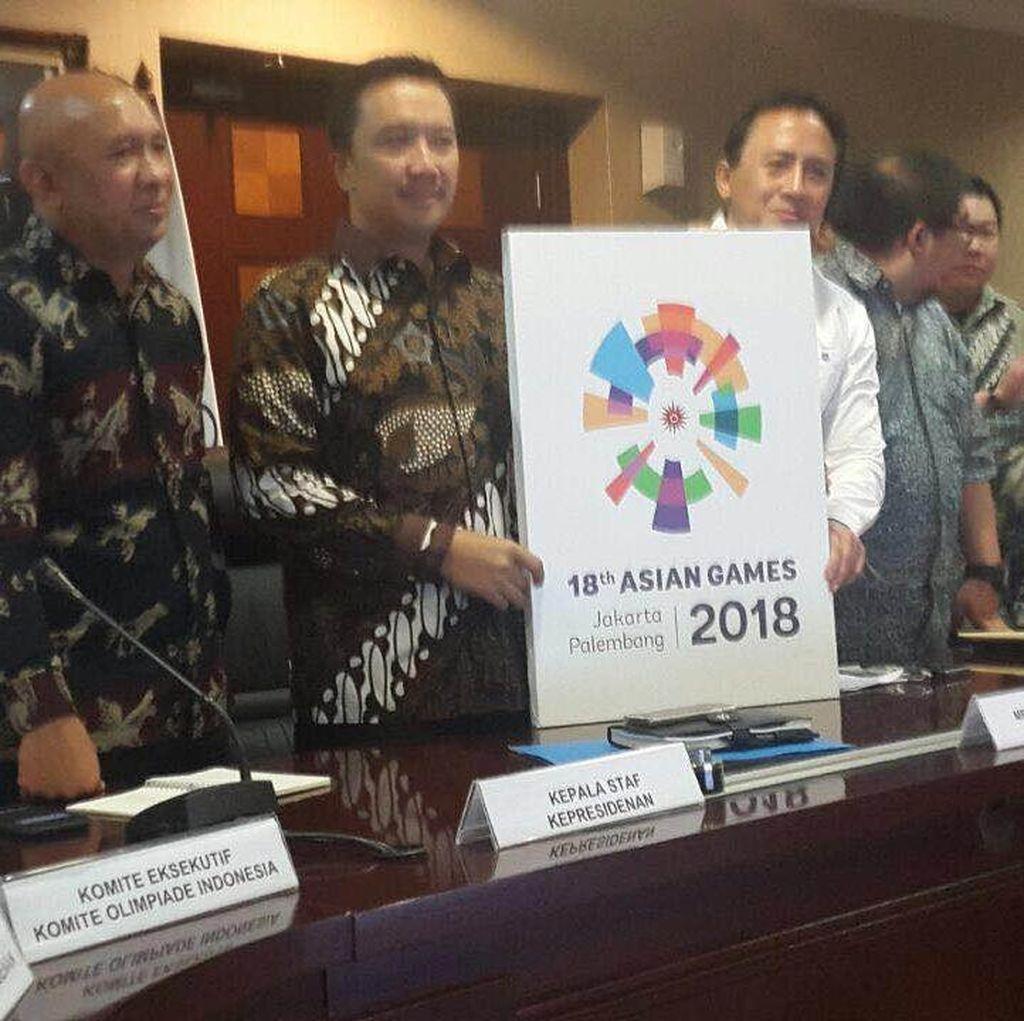 Menpora Harap Logo dan Maskot Asian Games 2018 Diterima Publik