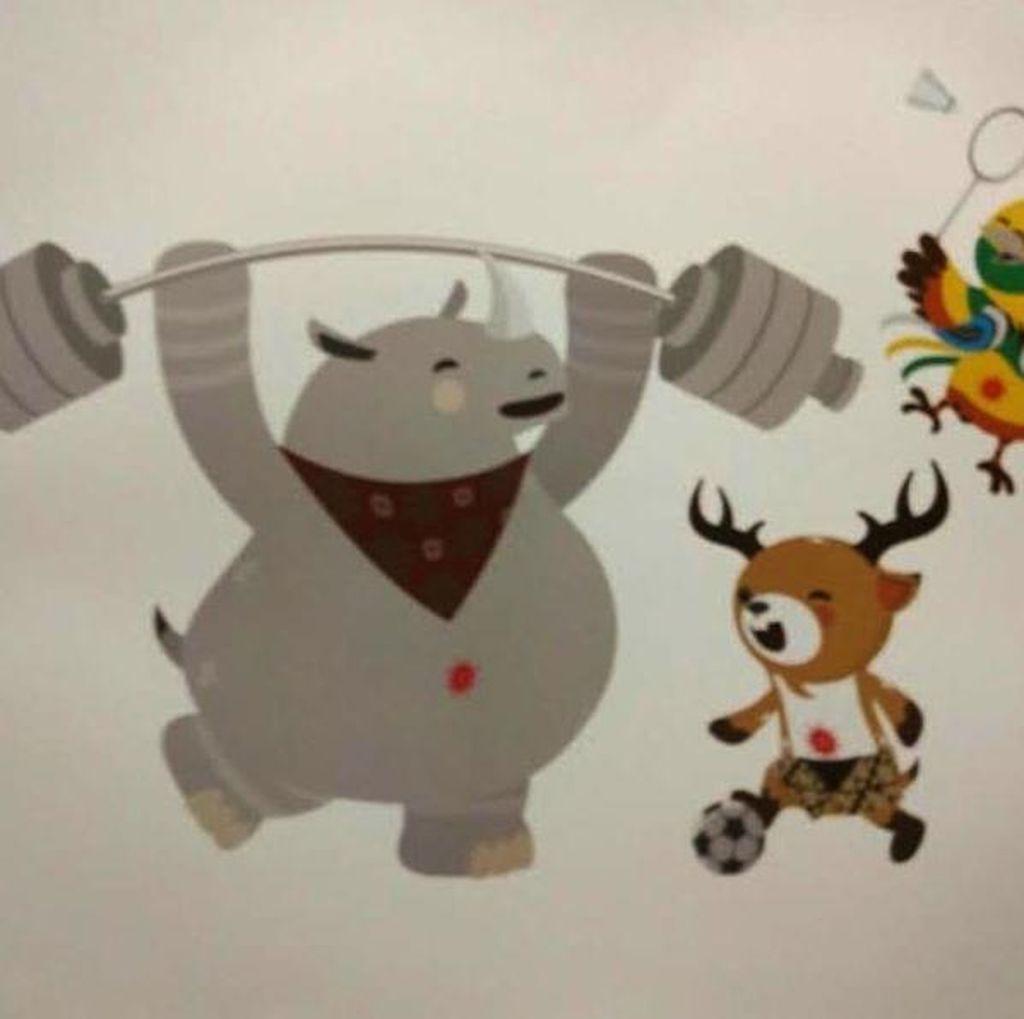 Maskot Baru Asian Games 2018 Dinilai Layak Dikoleksi