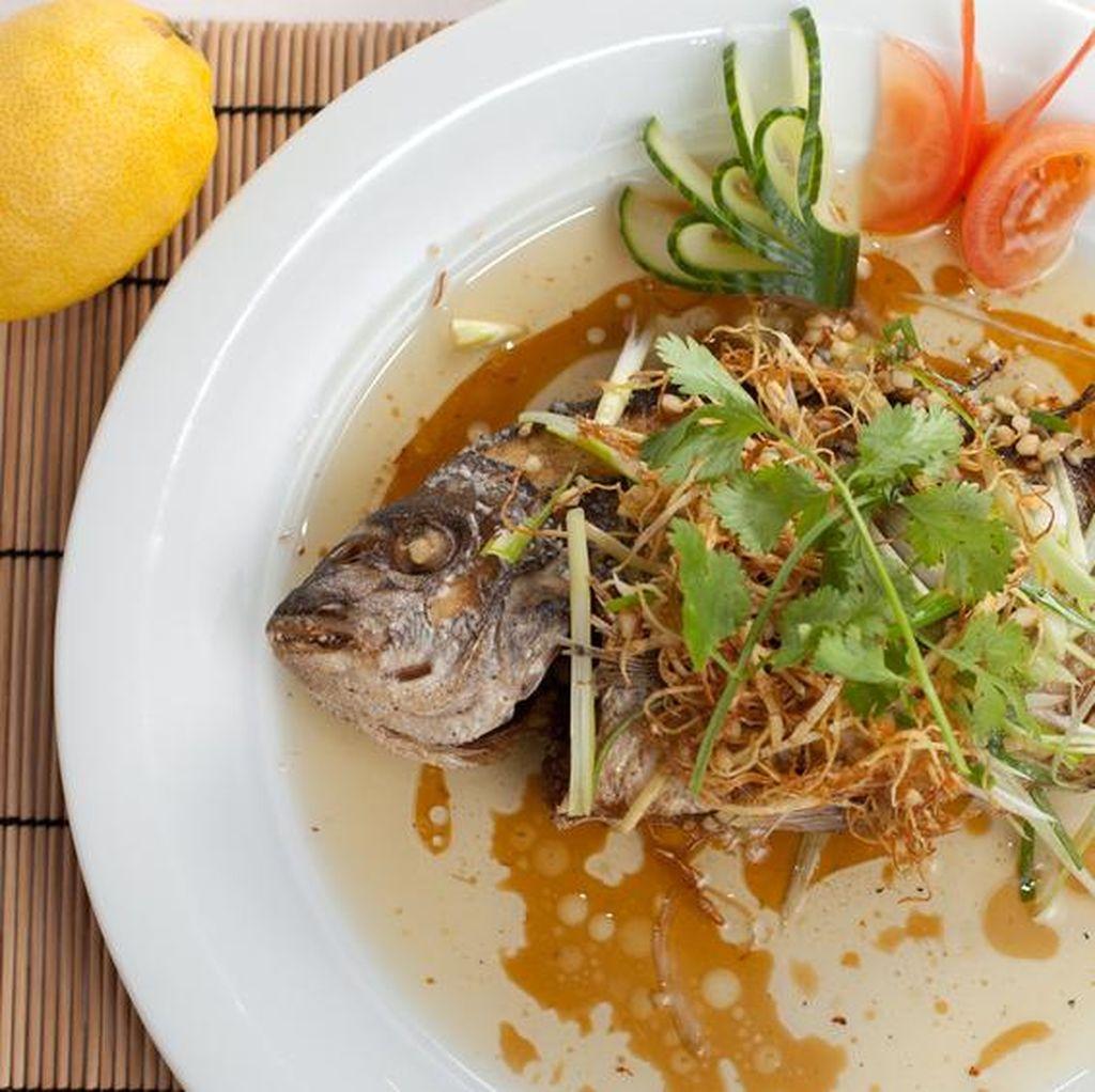 Ikan Kukus yang Lembut dan Tidak Beraroma Anyir