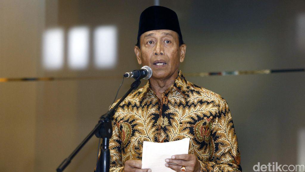 Pimpin Satgas, Wiranto: Kita Kepung Pungli dari Semua Arah!