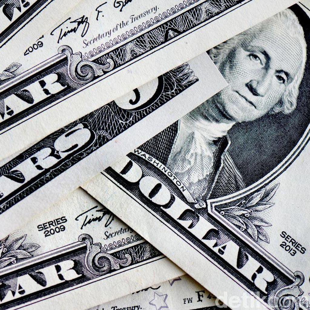 Dolar AS Naik ke Rp 13.265