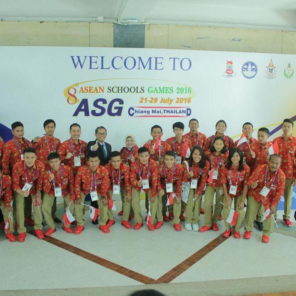 Indonesia Tempati Posisi Dua ASEAN School Games 2016
