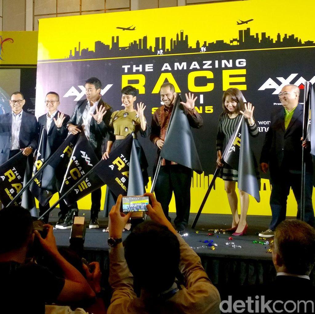 Musim ke-5 The Amazing Race Asia Didukung Penuh KEMENPAR RI