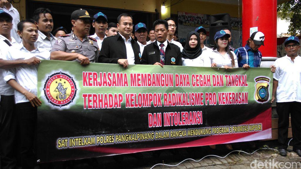 Kampung Antinarkoba Hadir di Daerah Rawan Narkoba Di Pangkalpinang