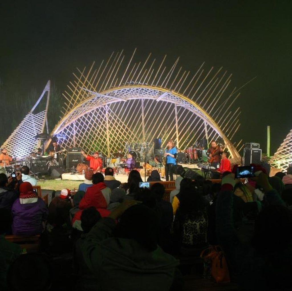 Pesta Merdeka di Puncak Jazz Raya untuk Jazz Gunung 2016