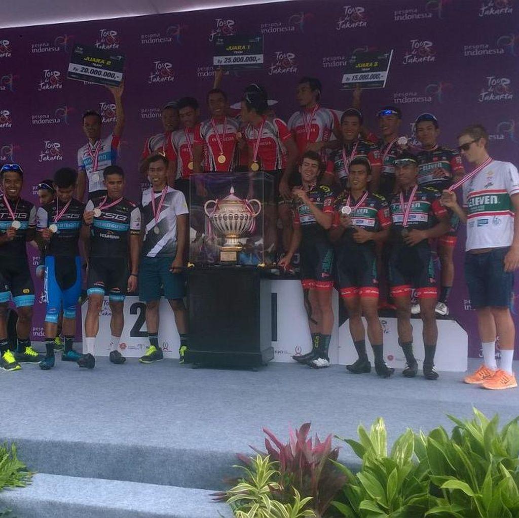 Juara di Jakarta, Tim Balap Sepeda Indonesia Siap Hadapi Tour de Singkarak