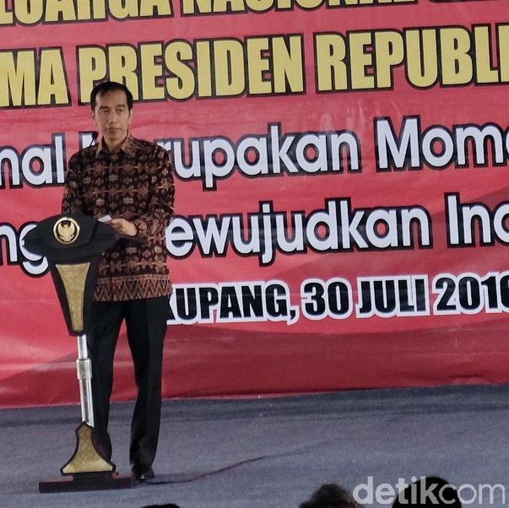 Peringati Hari Keluarga di Kupang, Jokowi: Setop Kekerasan Terhadap Anak!