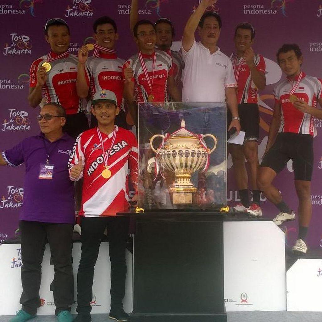 Tour de Jakarta Diharapkan Lebih Baik Tahun Depan