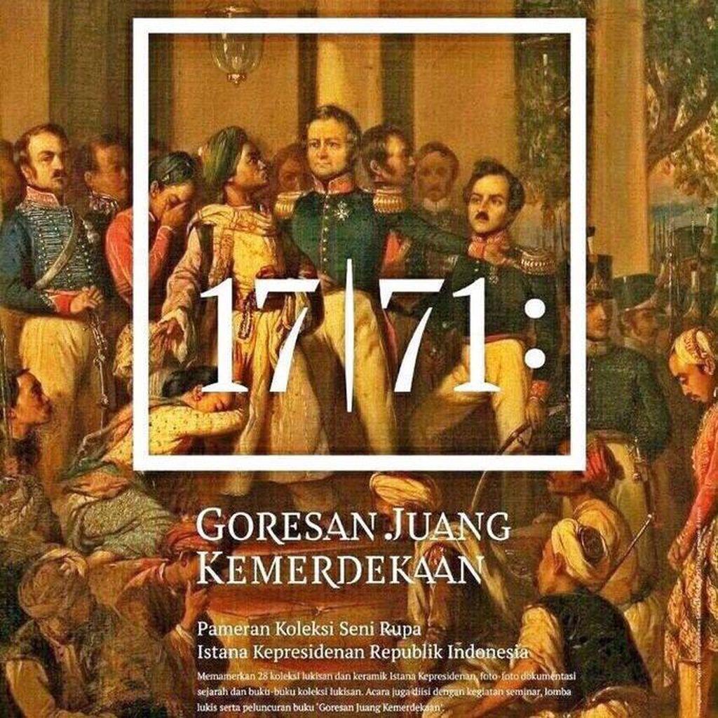 Jokowi Ajak Warga Lihat 28 Lukisan Koleksi Istana di Galeri Nasional
