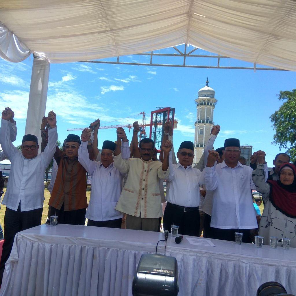 Gubernur Aceh Deklarasikan Diri Maju Indepeden di Pilkada 2017