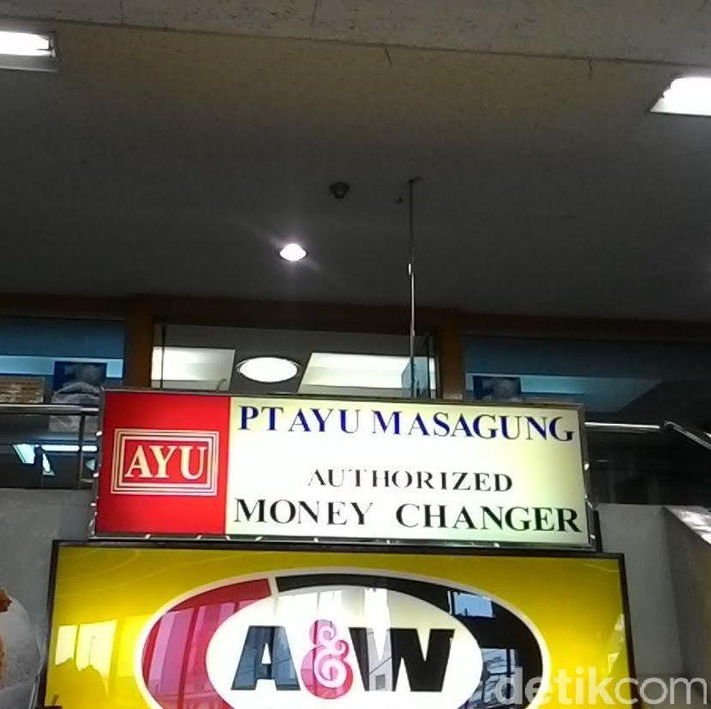 Beli Dolar AS di Money Changer Ini Rp 13.125